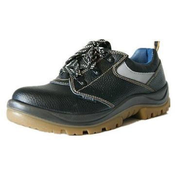 赛纳 安全鞋,GL-0551-S1P-38(同型号最小起订量10双),透气低帮牛皮 防砸防穿刺防静电