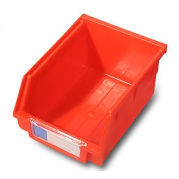 力王 背挂零件盒,105*140*75mm,全新料,24个/箱,PK-012-红色