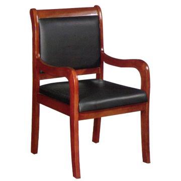 办公椅实木椅 韩皮 880x515x513mm 限山西