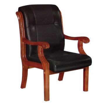 办公椅实木椅 韩皮 1000x680x700mm 限山西