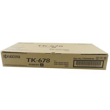 京瓷(kyocera) TK-678 墨粉 (适用KM-2540/3040/2560/3060 TASKalfa 300i)