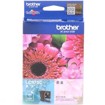 兄弟墨盒, LC975C 青色  (适用 MFC-J410、MFC-J220、MFC-J265W、550页)