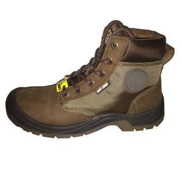 Safety Jogger 中帮安全鞋,Dakar S3-41,防砸防刺穿防静电 棕色