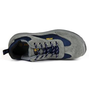 安腾 运动款透气翻毛安全鞋,防砸防静电,42,A9180S1