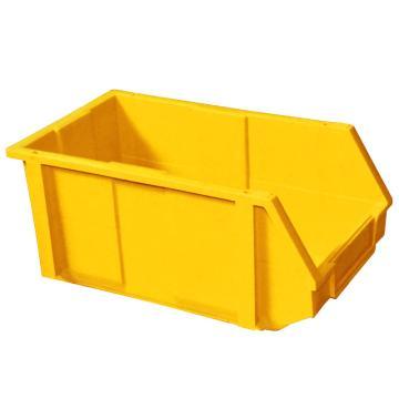 (全新料)组合式零件盒, 200×340×155mm (黄)