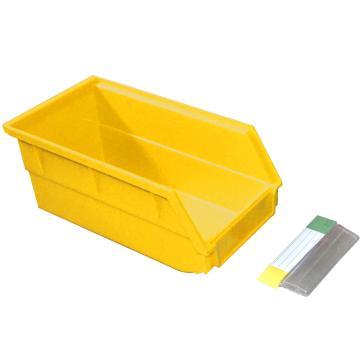 捷通 背挂式零件盒,105*190*75mm,全新料,24个/箱,BG-003(黄色)