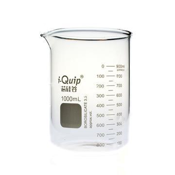 玻璃烧杯,1000ml,6个/盒
