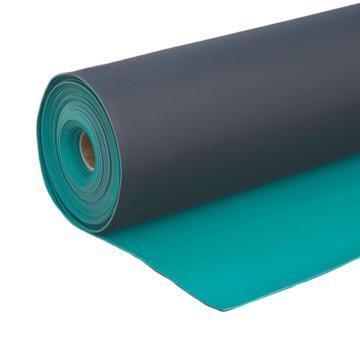 防静电台垫,橡胶 绿色亚光 1m*10m*2mm