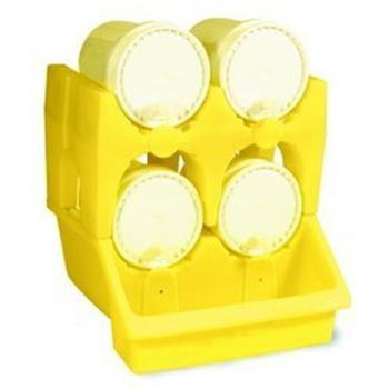 ENPAC小双桶叠放油桶架底座,6010-YE