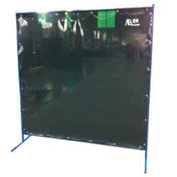 默邦 焊接防护屏,MB5102-1.96m,1.8m*1.96m 焊接防护屏 2mm厚 墨绿色 不含框架