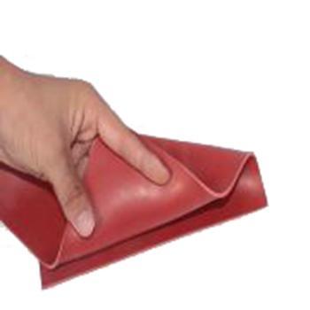 金能绝缘橡胶板,平面型 JN-JD 厚度3mm 宽1m,红色,5KV,10米/卷,60kg 单位:卷