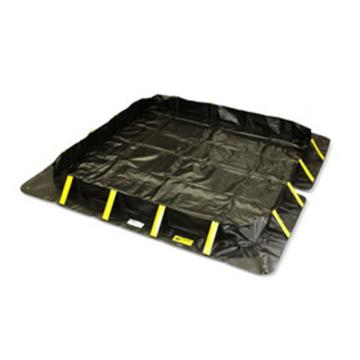 ENPAC撑扣式盛漏围堤,122*122*20cm,盛漏容积79加仑/302升 4801-BK-SU
