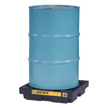 杰斯瑞特JUSTRITE 单桶盛漏平台,黑色,635×635×140mm,28653