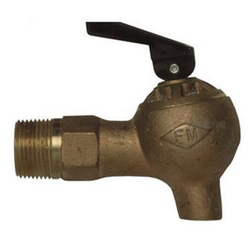 JUSTRITE/杰斯瑞特 铜制控流实验室用安全龙头,08540