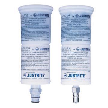 JUSTRITE/杰斯瑞特 凝结式/碳过滤器,与聚丙烯接头组合,28161