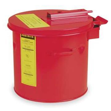 JUSTRITE/杰斯瑞特 钢制浸泡罐,3.5加仑/13L,27603