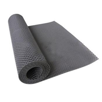 走道垫,S型耐油输水走道垫,0.9m*12m*10mm(宽x长x厚),灰色
