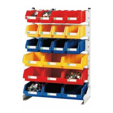 锐德 单面固定性零件盒挂架,960*550*1430mm,散件发货,安装费另询