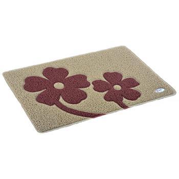 力九和除尘垫,AMS688E系列设计垫,厨房设计垫花朵60x90cm,单位:片