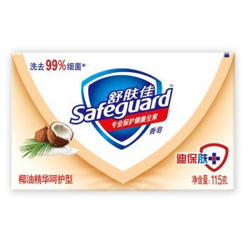 舒肤佳椰油精华呵护型香皂,108克(替代原先115g产品,条形码一样)单位:个