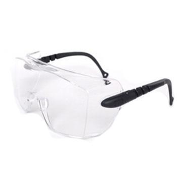 3M 防护眼镜,12308,中国款防护眼镜 可佩戴近视眼镜使用 防雾涂层,