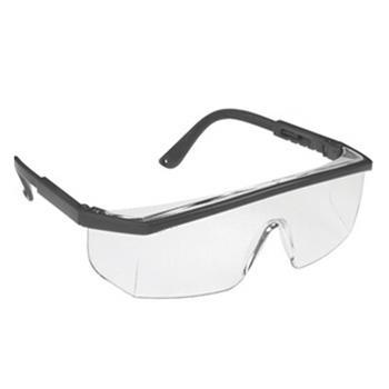 洁适比JSP 海查防护眼镜,02-1295,黑边防雾