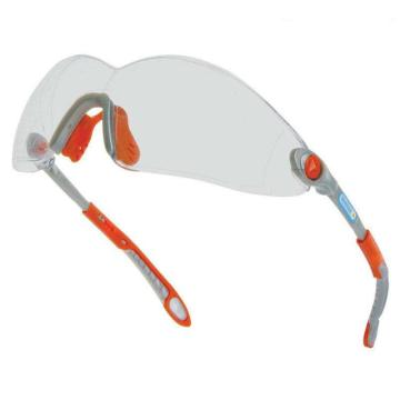 代尔塔 101116 时尚型安全眼镜,透明防雾