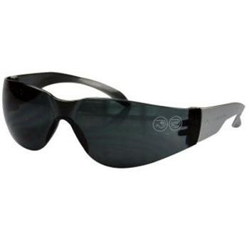 代尔塔DELTAPLUS 防护眼镜,101118,BRAVA2 SMOKE聚碳酸酯防护眼镜 全贴面弧形整片式
