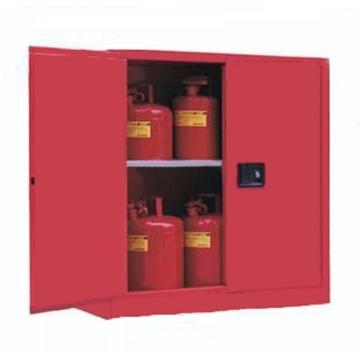 成霖 红色可燃液体安全柜,30加仑/114升,双门/手动,CL803001