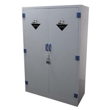 成霖 瓷白色强酸强碱PP柜,45加仑/170升,双门/手动,1650×1100×460mm,CL-P1700