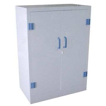 成霖 瓷白色强酸强碱PP柜,25加仑/95升,双门/手动,900×910×600mm,CL-P900
