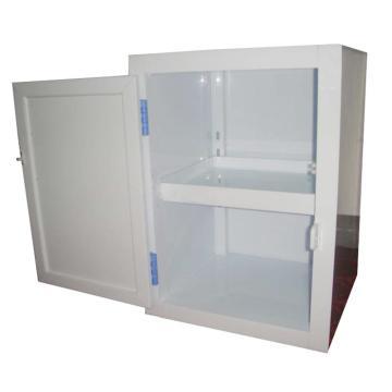 成霖 瓷白色强酸强碱PP柜,1.5加仑/6升,单门/手动,500×360×415mm,CL-P500
