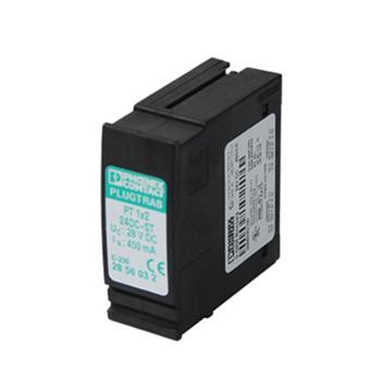 菲尼克斯PHOENIX 电涌保护连接器,PT 1X2-24DC-ST,2856032