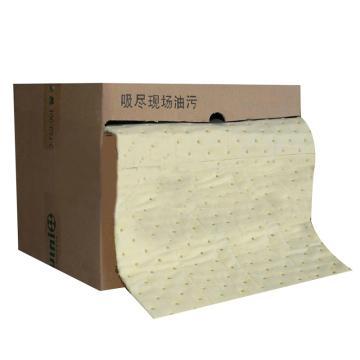 新络 多形状危害品吸收棉35公升/盒规格40CMX18MX3MM,XLH94018