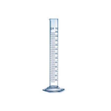 玻璃量筒,5:0.1ml,高型,BLAUBRAND®,A级,2个/包