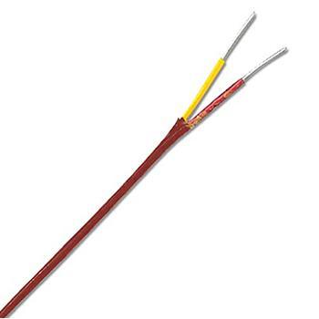 OMEGA K型双重绝缘热电偶线,特别限制误差 Nextel陶瓷绝缘层 25英尺长