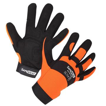 欧标35600款防护手套,12副/打,橙色,L