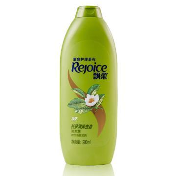飘柔家庭护理绿茶长效清爽去油洗发露,200ml 单位:瓶