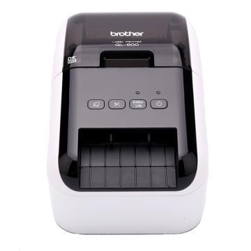 兄弟(brother) 热敏标签条码打印机QL-800不干胶电脑标签机替代QL-700