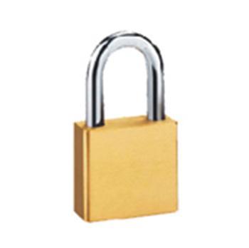 都克 全铜挂锁(普通型),锁体宽40mm,锁钩直径6mm