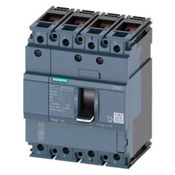 西门子 3VA1系列塑壳断路器,3VA1B100 R16 TM210 F/4P