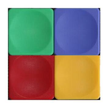 日学 四方形白板磁粒,30*30mm 5个/板 单位:板
