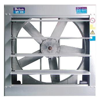 德通 方形负压轴流风机(带百叶),GLF-5#/0.55KW 220V