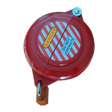 都克 旋塞阀锁具,适用锁定边长10-34mm的方形和直径15-50mm的圆形阀杆,V41