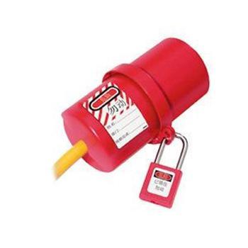 Master Lock 小号电源插座罩,120伏,一些是240伏,487MCN