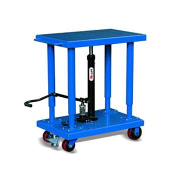 虎力 工位平台车载重900kg,台面尺寸815*1220mm,台面高度940-1500mm