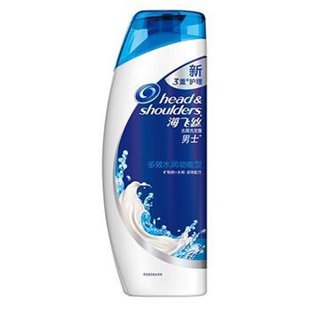 海飞丝男士去屑洗发露,多效水润动能型170ml  82201381