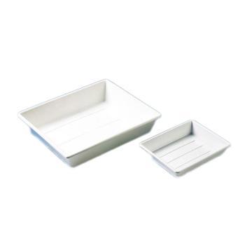 BRAND托盘(显影盘),PP材质,白色,可堆叠,370*310*75mm