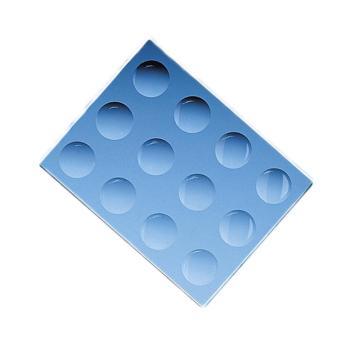BRAND多孔载玻片,130*100*6mm,含12个凹穴