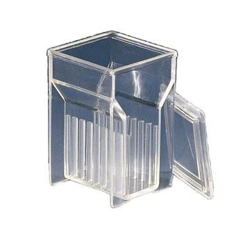 BRAND染色槽,PMP材质,加长Hellendahl式,可以放置16张载玻片,4个/包